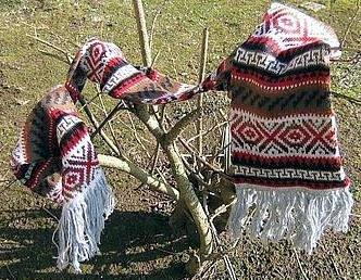 Peruvian designed scarf,shawl made of Alpacawool