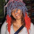 Fancy Crazy Shaggy Festival Hat pure Alpaca Wool
