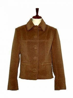 Brown Blazer,Jacket made of Babyalpaca fabric