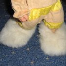 Babyalpca fur slippers, house or bed shoes for Babies