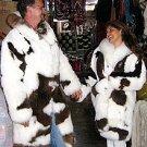 2 x Longcoats in a partnerlook, fancy idea for couples