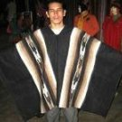 Original pure alpacawool peruvian Poncho,outerwear