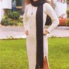 White long dress,longsleeve,ecological pima cotton