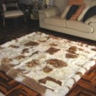 Rug of babyalpaca fur,carpet of 59 x 43.3 Inches
