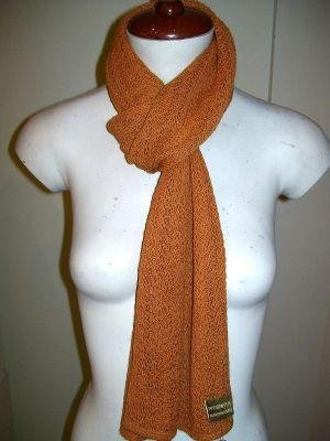 Crocheted scarf,shawl made of Babyalpaca wool