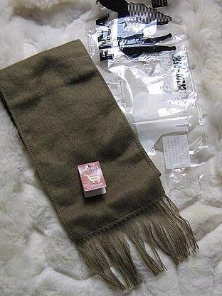 Olive alpacawool lighter scarf,neck scarf, unisex