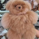 Teddy Bear, pure Babyalpaca pelt, fur soft toy figure 12.5 inch.