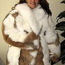Fur jacket,made of babyalpaca fur,outerwear