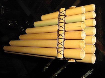 Original Peruvian Flute Pan Flute Zamponia