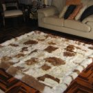 Rug of Babyalpaca fur, carpet of 59 x 43.3 Inches