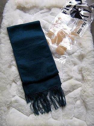 Dark blue Alpacawool scarf, unisex shawl