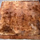 Rug from Peru made of Babyalpaca fur, 58.5 x42.9 Inches