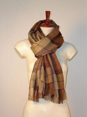 Brown scarf,Babyalpaca wool,unisex shawl Accessory