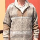 Jacket for men made of alpacawool, outerwear