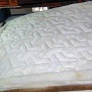 White alpaca fur rug from Peru mit Y designs, 300 x 200 cm
