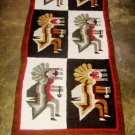 Hand-weaved rug from Peru, Carnival Designs