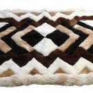 Alpakaandmore Original Peruvian Alpaca Fur Rug Tornillo 90 x 60 cm