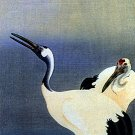"""Cranes"" BIG Japanese Art Print by Koson Japanese Art"