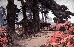 """Azalea Garden Teahouse Big""Japanese Art Print Japanese"