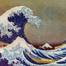 """""""The Great Wave"""" Japanese Art Print by Hokusai"""