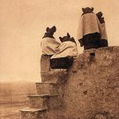 """Hopi Women"" Edward S. Curtis Native American Art Photo"