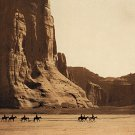 """Canyon De Chelly-Navaho""BIG Curtis Native American Art"
