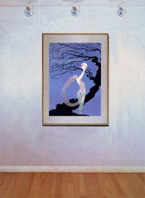 """Fireflies"" BIG Art Deco Print Erte"