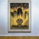 """Metropolis"" XL-HUGE Beautiful Art Deco Movie Poster"