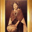 """Hopi Girl With Jar"" Edward S. Curtis Art Photograph"