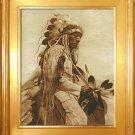 """The Old Cheyenne"" Edward S. Curtis Art Photograph"