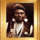 """Chief Joseph"" Edward S. Curtis Art Photograph"