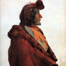 """Plains Medicine Man"" Bodmer Art Print  Native American"