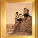 """Hopi Women"" Edward S. Curtis Art Photograph"
