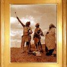 """The Oath"" Edward S. Curtis Art Photograph"