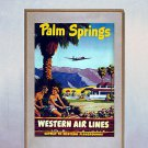 """Old Palm Springs""  California Art Print Palm Springs"