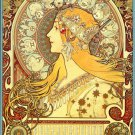 """The Astrologer""   Ltd. Ed. Art Print by Alphonse Mucha"