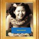 """""""Hawaiian Hula Beauty"""" Hawaii Surfing Art Print"""