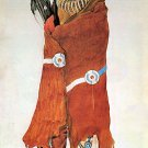 """Indian Warrior"" Bodmer Native American Art Print Art"
