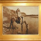 """Bow River Blackfoot"" Edward S. Curtis Art Photograph"