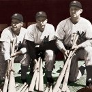 """Yankees""  DiMaggio, Keller, Henrich Hand colored Photo"