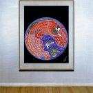 """Dream Voyage"" BIG Art Deco Print by Erte"