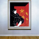 """Furs"" HUGE Art Deco Print by Erte"