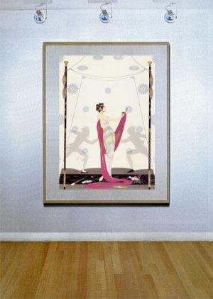 """The Duel"" BIG Art Deco Print by Erte"