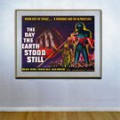 """The Day Earth Stood Still""HUGE Old Sci-Fi Movie poster"