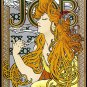 """Job"" BIG Art Nouveau / Deco Print by Alphonse Mucha"