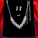 Necklace with matching earings X 043