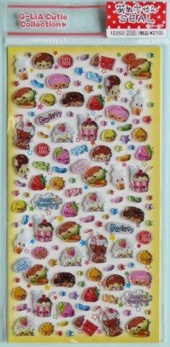 Q-lia Junk Food Sticker Sheet