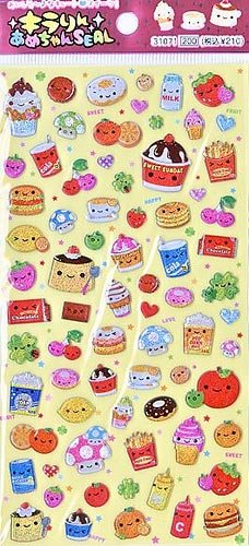 Q-lia Sweets Collection Sticker Sheet