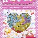 Crux Baby angel animals sticker sack (Pink)