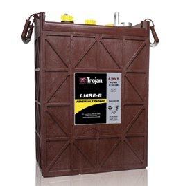 L16RE-B 6V  Trojan Deep Cycle Battery